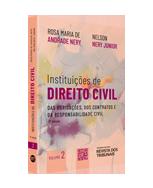 Instituições de Direito Civil Volume 2 - 2ª Edição - das Obrigações,Contratos e da Responsabilidade Civil - Nery Advogados